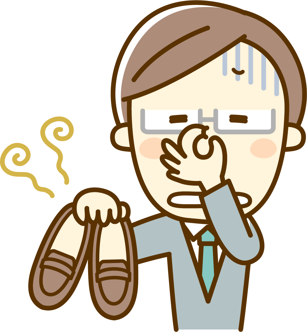 消す 臭い 足 の 方法 を 一瞬 で